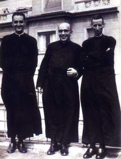Padre Alba, Padre Piulachs y Mossèn Ricart