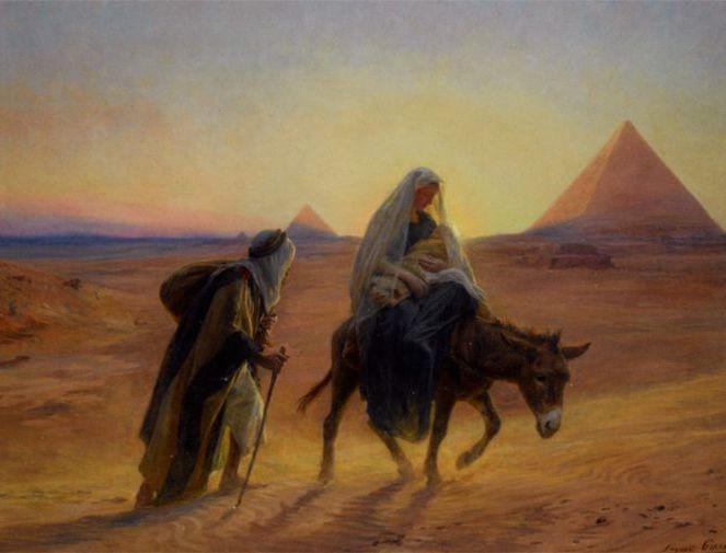 Resultado de imagen de la huida a egipto