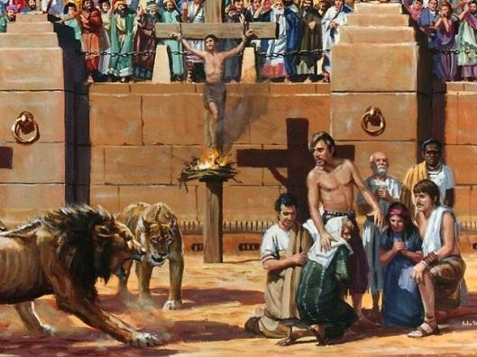 SANTOS-MÁRTIRES-CRISTIANOS-IGLESIA-EN-ROMA-martires-coliseu