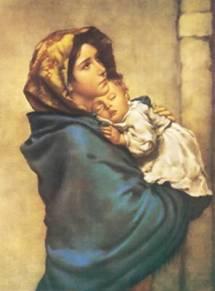 La Virgen María y el Niño