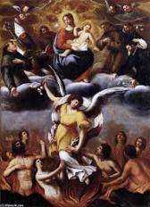 San Miguel - recibir almas después de la muerte