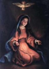 Virgen Maria niña - Castidad