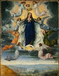 Asunción de Virgen María - Universo