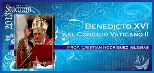 Benedicto XVI y el Concilio Vaticano II