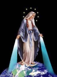 En el Cielo la Virgen es sonrisas y alegrias