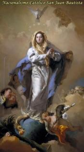 La Virgen pisando cabeza de la serpiente NCSJB