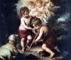 Niño Jesús y San Juan Bautista