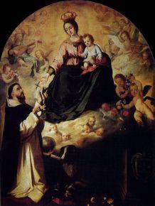 esteban-murillo-la-virgen-presentando-el-rosario-a-santo-domingo