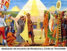 Hispanoamérica - Cortes y Moctezuma