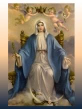 Santa Maria Reina de cielos y tierra