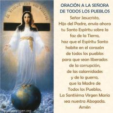 Virgen María Madre de todos los pueblos