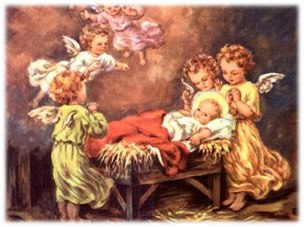 Adoracón de los ángeles al Niño Jesús