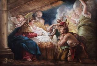 Adoración de los pastores al Niño Jesús.jpg