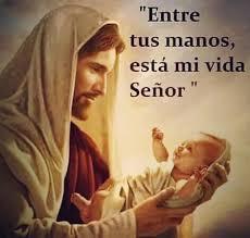 Dios mío en tus manos esta mi vida