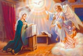 El Ángel Grabiel anuncia a María