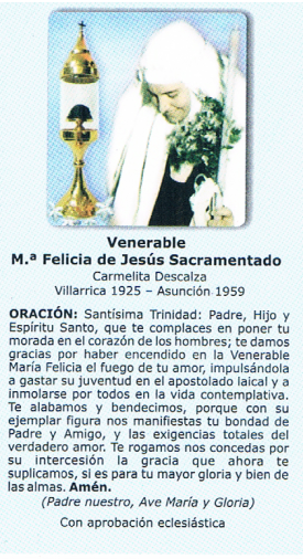 Felicia de Jesús Sacramentado