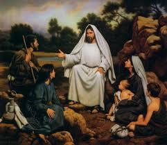 Jesucristo predicando