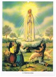 La Virgen de Fátima y pastorcito 001