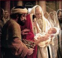 Presentación del Niño Jesús a Simeón