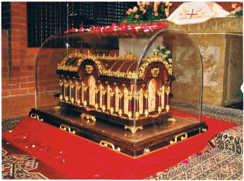 Relíquias Santa Teresa del Niño Jesús