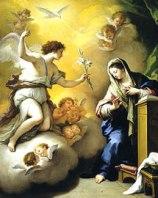 Arcangel Gabriel - En la Anunciación
