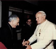 Guerra campos con el Papa
