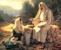 Jesús el que tenga sed que venga a Mí