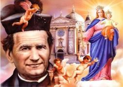 San Juan Bosco y María Auxiliadora