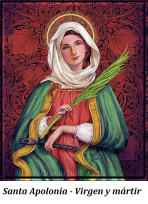 Santa Apolonia - Virgen y Mártir