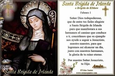 Santa Brigida de Irlanda