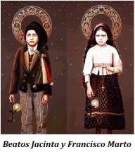 Beatos Jacinta y Francisco Marto