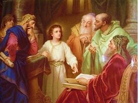 Jesúa perdido y hallado en el Templo