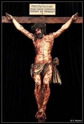Jesús claado en la Cruz