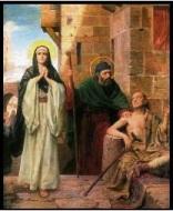 María dolor ´de perder a Jesús en Jerusalén