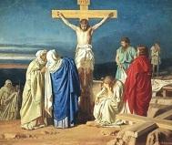 María dolor de ver a Jesús morir en la Cruz