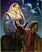 María dolor huir a Egipto