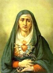 Presentación La Virgen con las siete espadas