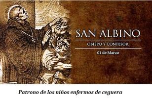 San Albino - Obispo y Confesor