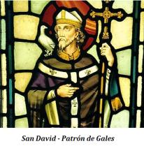 San David - Patrón de Gales