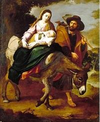 San José la Huida a Egipto