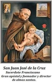 San Juan José de loa Cruz - Sacerdote Franciscano