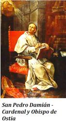 San Pedro Damián - Cardenal y Obispo de Ostia