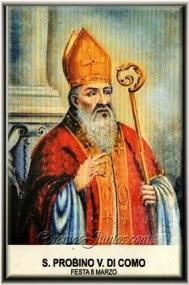 San Probino de Como - Obispo