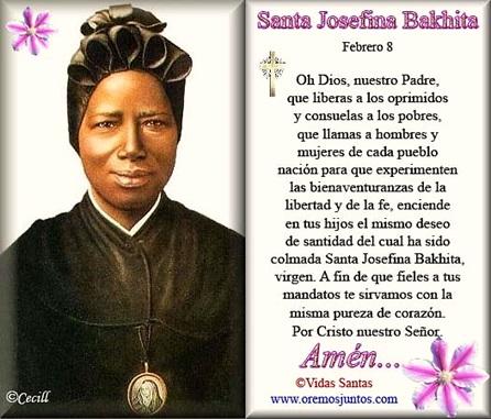 Santa Josefina Bakhita - Oración