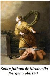 Santa Juliana - Virgen y martir