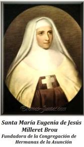 Santa María Eugenia de Jesús Milleret