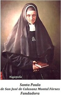 Santa Paula de San José de Calasanz