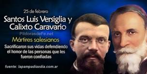 Santos Luis Versiglia y Calixto Caravario