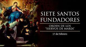 Siete santos Fundadores_17Febrero