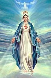 La Virgen María y el Espíritu Santo